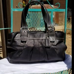Authentic Smooth Leather Coach Purse